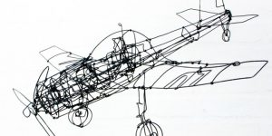 WIRE AIRPLANE ANDERS HERMANSEN DESIGN