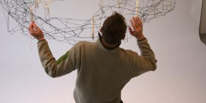 WIRE CHANDELIER ANDERS HERMANSEN DESIGN BACK